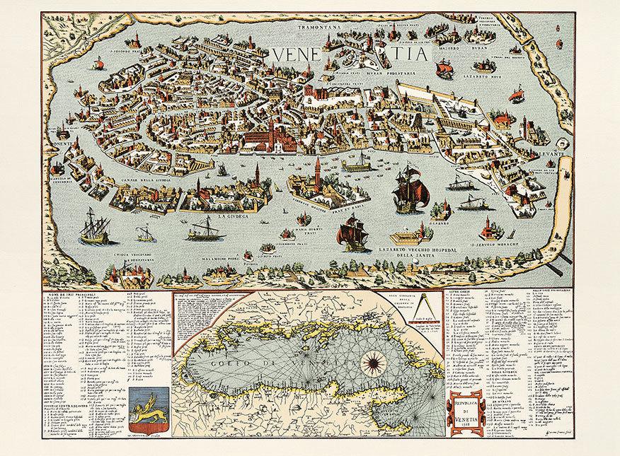 Venise_Plan_de_Venise_1568